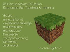 maker resourc, maker education, maker movement