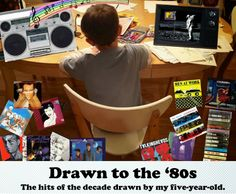 Drawn to the 80's