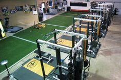 The 21 most innovative gyms in the US. Just a small step up from your garage gym ;)