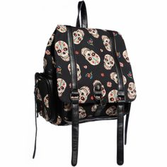 backpacks, skull backpack, purs, cloth, candy skulls, candies, candi skull, ban candi, backpack imag
