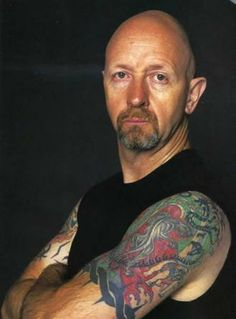 Rob Halford - Lead Singer, Musician of the Heavy Metal Hard Rock music group Judas Priest - METAL GOD!!!