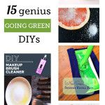 Genius Ideas for Going Green and Saving Money