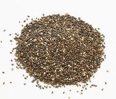 chia seed, health foods, natural fiber foods