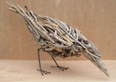 Driftwood.mechanical.Crow #2, via Flickr.