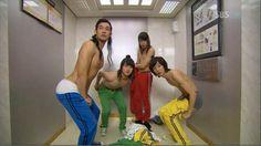 AHAHAHAHAAA!!! Rooftop Prince elevator scene! One of the funniest scenes x'DDDD