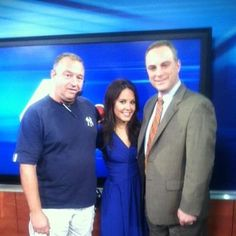 Scott Stanford with the beautiful Domenica Davis from NBC.
