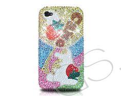 Strawberry Tree Bling Swarovski Crystal Phone Case  #Swarovski     http://www.dsstyles.com/iphone-5-cases/swarovski-series-strawberry-tree-swarovski-crystal-phone-case.html?Src=pinterest
