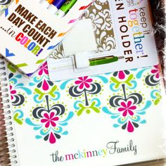 Erin condren life planners are awesome!
