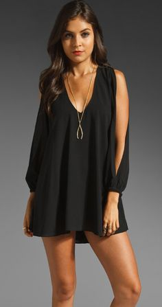 LOVERS AND FRIENDS GRACIE DRESS BLACK $149- CALL SPLASH TO ORDER 314-721-6442