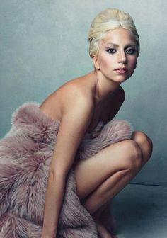 Lady Gaga on Vanity Fair,January 2012