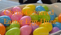 Christ-Centered Easter Egg Hunt.