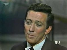 Andy Williams - Moon River 1960's performance - YouTube