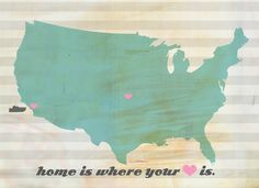 'home is where your heart is'