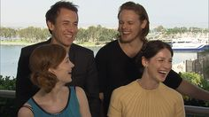 Here Is the Hottest Man Alive—Outlander's Sam Heughan—Professing His Love of Horseback Riding in a Kilt   E! Online. I swear - I'm nearly as much in love with the cast as I am with the books! kilts, books, news