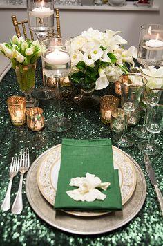 emerald green, emerald decor