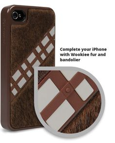 Star Wars Chewbacca Collector Case for iPhone 4/4S