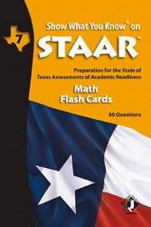 SWYK on STAAR grade 7 Math Flash Cards. Also available- Student Workbooks and Parent/Teacher Editions with Tutorial CDs.