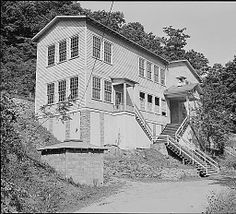 The grade school for chidren of this vicinity; this building is owned by the county and is not on coal company land. Panther Red Ash Coal Corporation, Douglas Mine, Panther, McDowell County, West Virginia., 08/26/1946