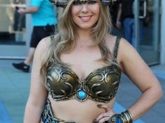 Queen Soridormi #cosplay at #Blizzcon, made by Organic Armor, inspired by Vaanel, #wow,