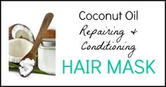 Coconut Oil Hair Mask Recipe - Seeds Of Real Health