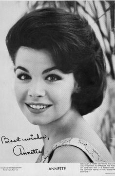 Annette 1960's Mouskateer and TV Star Movie. Loved her!  RIP
