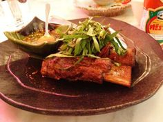 Twice cooked river beef short ribs @ Chin Chin