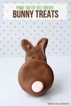 Peanut Butter Bunny Treats