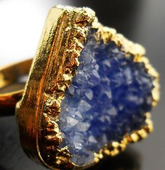 Druzy Ring from Sparklecouture