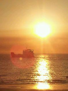 Sunset  #fraserbarges #fraserisland #queensland #australia www.fraserislandferry.com.au