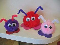 valentine crafts, valentine day crafts, early childhood education, bug crafts, warm fuzzies, craft ideas, kid crafts, parti, valentine party