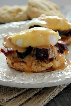 substitute the usual with cheddar jalapeno biscuits and pulled pork