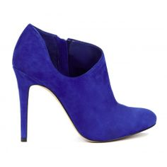 Helena low cut bootie - Crystal Blue