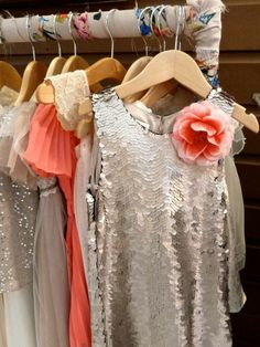 Sequins, vintage look lace and sunray pleats, Monsoon girls party dresses for Xmas 2012