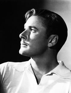 Errol Flynn photographed by George Hurrell.