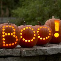 cute BOO Pumpkins