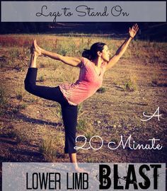 Build powerful legs in only 20 Minutes with this lower limb BLAST