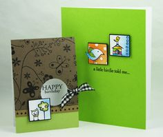 cute inchies as card toppers