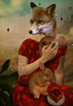 Anthropomorphism Art...    (via Lys Lydia)    Source: lyslydia