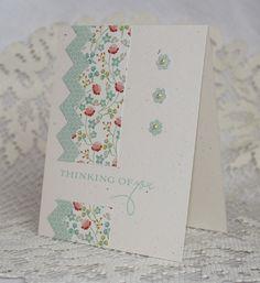 Handmade Greeting Card - Thinking of You