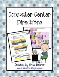 Picture Directions for the Computer Center or Computer Lab