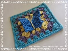 Free Crochet Patterns: Free Crochet Granny Square Motif Patterns