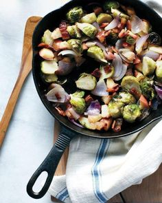Brussels Sprout, Apple, and Bacon Hash Recipe
