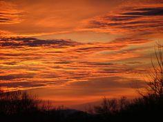 Fiery Arkansas Sky [Barling, Arkansas]