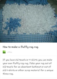 DIY RUG...