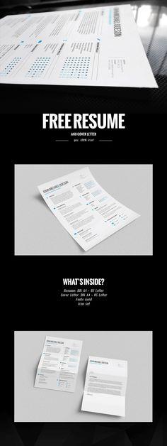 FREE Resume + Cover Letter! | via http://goo.gl/3y4GMD #freebie