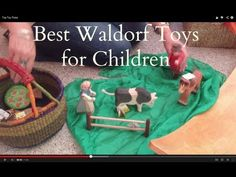 Sarah Baldwin, a Waldorf early childhood teacher, shares her top five picks of best Waldorf toys for young children.