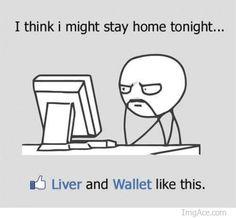 wallets, funni stuff, liver