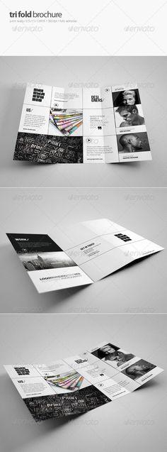 Creative Tri-Fold Brochure - Brochures Print Templates