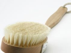 Stimulate, Rejuvenate, and Detoxify through Dry Brushing. My skin feels so wonderful after I do this!