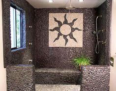Pebble Tile Ideas for Bathrooms